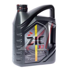 Масло моторное X7 FE (OW) синт.4л ZIC ZIC SAE0W30, 162616