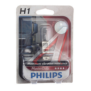 Лампа 24V H1 70W P14.5s блистер 1шт. Master Duty PHILIPS 13258MDB1, P-13258MDбл