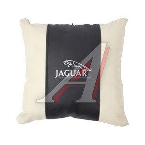 Подушка автомобильная JAGUAR эко-кожа М073