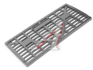 Облицовка радиатора ГАЗ-3307,4301 пластик ТЕХНОПЛАСТ 4301-8401020