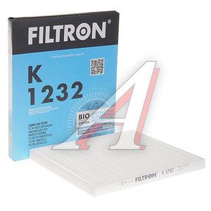 Фильтр воздушный салона HYUNDAI Tucson KIA Rio (05-),Sportage,Carens FILTRON K1232, LA301, 97133-2E210
