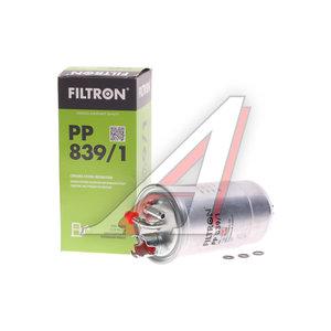 Фильтр топливный VW AUDI A4 (00-08) SKODA (1.9/2.0 TDI) FIAT Punto (94-99) (1.7 TD) FILTRON PP839/1, KL147D, 1C0127401/46473803