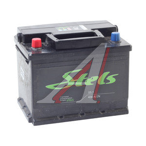 Аккумулятор STELS 55А/ч 6СТ55