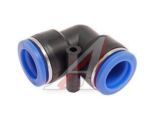 Соединитель трубки ПВХ,полиамид d=16мм угольник PUL16, АТ-347