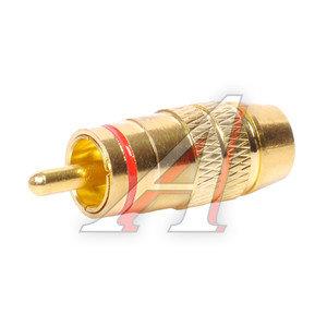 Штекер RCA (штырь) металл PREMIER 1-284G