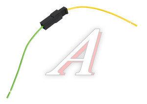 Разъем соединительный 6.3мм 1-клеммный (м+п) в сборе с проводами АЭНК КЛ064-1У, 9001/9002СБ