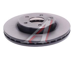 Диск тормозной MERCEDES E (W211) передний (1шт.) TRW DF4261, A2114210712