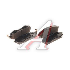 Колодки тормозные HYUNDAI Sonata (98-),Elantra (00-) передние (4шт.) HSB HP1033, GDB895, 58101-38A70