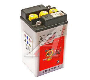 Аккумулятор BANNER Bike Bull 8А/ч 3СТ8 В49-6 008 011 004