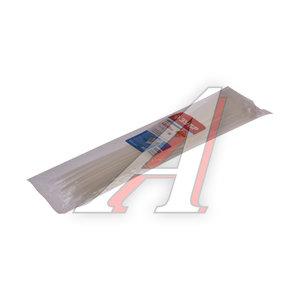 Хомут-стяжка 400x4.8 нейлон белый (100шт.) ЗУБР 309010-48-400
