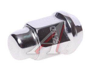 Гайка колеса М12х1.25х35 конус закрытая ключ 17мм TECHNOCAST М12х1.25х35, М12х1.25/35 закрытая, М12х1,25х35
