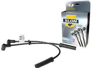 Провод высоковольтный ВАЗ-1111 комплект силикон SLON 1111-3707080, 1111-3707080 SLON, 1111-3707060