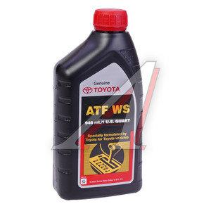 Масло трансмиссионное ATF для АКПП WS 1л TOYOTA 00289-ATFWS, TOYOTA ATF