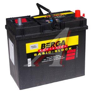 Аккумулятор BERGA Basicblock 45А/ч обратная полярность 6СТ45 BB-B24L, 545 155 033 7902