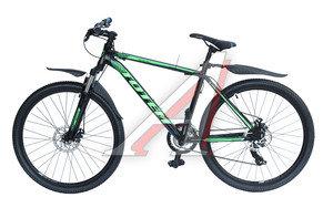 """Велосипед 26"""" 21-ск. дисковые тормоза (AL-рама) черный SPARK TOTEM T15B210 B, T15B210"""