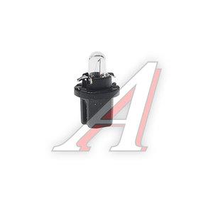 Лампа 12V 1.2W Bax8.5d черный патрон PHILIPS 12598CP, P-12598