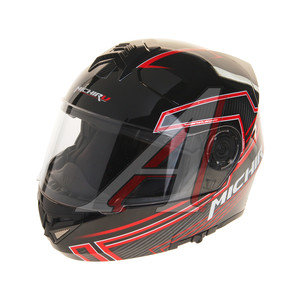 Шлем мото (модуляр) MICHIRU Tron Red MF 120 L, 4680329006486