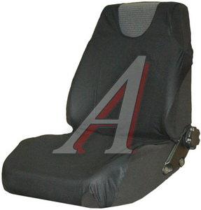 Авточехлы (майка) на передние сиденья черные (2 предм.) КЛАУДИС Чехлы,