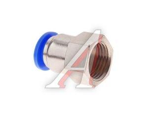 Соединитель трубки ПВХ,полиамид d=10мм (внутренняя резьба) М16х1.5 прямой PCF M16x1.5 d=10, АТ-0732