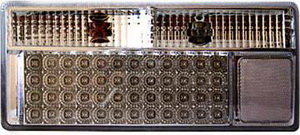 Фонарь задний ВАЗ-2107 PRO SPORT светодиодный,тонированный хром комплект RS-05682, 2107-3716010