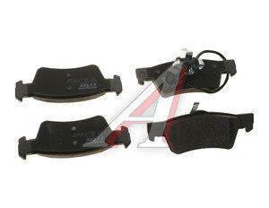 Колодки тормозные VW Touareg,T5 задние (с датчиком) (4шт.) TRW GDB1671, 7H8698451/7L6698451C