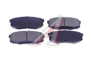 Колодки тормозные TOYOTA Land Cruiser (J200) (08-) задние (4шт.) SANGSIN SP1382, GDB3491