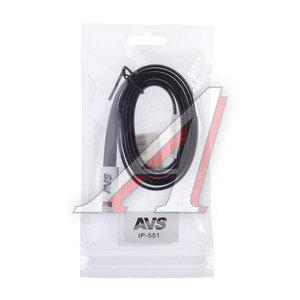 Кабель iPhone (5-) 1м черный AVS A78039S, AVS IP-551,