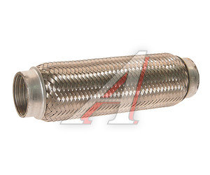 Гофра глушителя 50x250 в 3-ой оплетке interlock нержавеющая сталь FORTLUFT 50x250oem