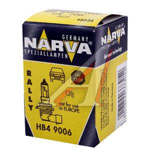 Лампа HB4 12Vх70W (P22d) NARVA 48026, N-48026