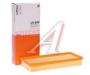 Фильтр воздушный FORD Mondeo 3 (00-) MAHLE LX978, 1581167