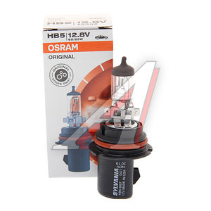 Лампа 12V HB5 65/55W PX29t 3200K SILVANIA 9007, O-9007