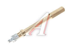 Удлинитель вентиля колеса металлический прямой L=100мм HH-038-10CM
