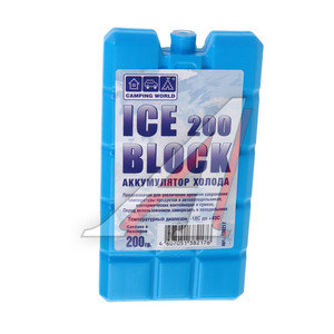 Аккумулятор холода 200г водно-солевой (жесткий) CAMPING WORD 138217