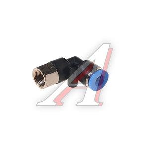 """Фитинг для пластиковых трубок 1/8"""" угловой 6мм с внутренней резьбой ROCK FORCE RF-SPLF06-01"""