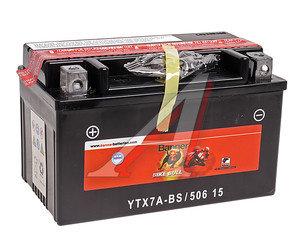Аккумулятор BANNER Bike Bull 6А/ч 6СТ6 YTX7A-BS 506 015 005