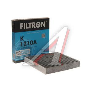 Фильтр воздушный салона TOYOTA Auris (12-),Corolla,Hilux (05-) угольный FILTRON K1210A, LAK490, 87139-50100