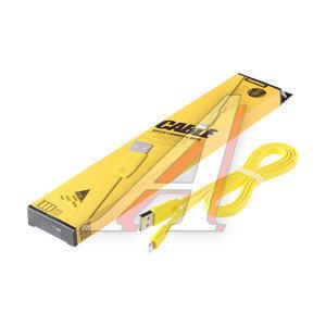 Кабель iPhone (5-) 1м желтый REMAX REMAX RM-000136