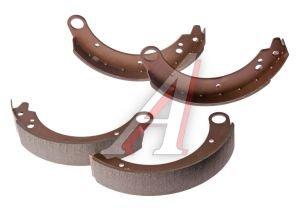 Колодки тормозные ГАЗ-2410,3110 задние (4шт.) ALLIED NIPPON ABS1801, 24-3501090