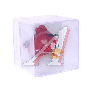 Ароматизатор на дефлектор пластик-пропитка (сквош) фигура Птица красная Angry Birds 3D PRIDE 073026, AB026