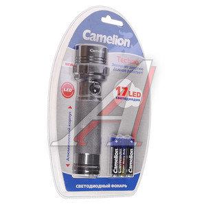 Фонарь 17 светодиодов (алюминий) 13.6см 3хR03 в блистере CAMELION C-5111-17