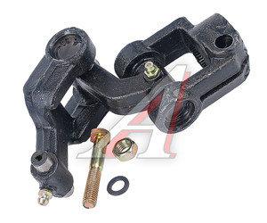 Шарнир карданный рулевого управления ГАЗ-33104 нижний в сборе РЕМОФФ 33104-3401123, Р33104-3401123Р
