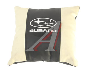 Подушка автомобильная SUBARU эко-кожа М060