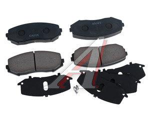 Колодки тормозные SUZUKI Grand Vitara (05-) передние (4шт.) OE 55200-65J11, GDB3443, 55200-65J11/55200-65J01/55200-65J21/55200-65J00