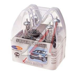 Лампа H4 12Vх60/55W AUTOBRITE SUPER WHITE (евробокс) 2шт. MS Н4-12-60/55