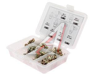 Масленка М6х1, М8х1, М10х1 (90,180град.) набор 80 предметов (пластиковый бокс) PROLUBE PROLUBE PL-43973, PL-43973,