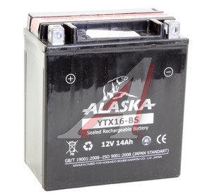 Аккумулятор ALASKA 14А/ч мото 6СТ14YTX16-BS