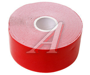 Скотч двухсторонний 40ммх5м красный профессиональный MEGAPOWER ET-405PRO