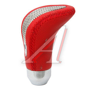 Ручка на рычаг КПП Red кожа GLIPART GT-38152R