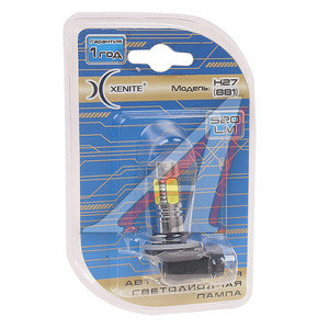Лампа светодиодная 12/24V Н27 PG13 блистер (1шт.) Cree XENITE Xenite Н27, 1009322