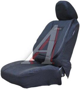 Авточехлы универсальные жаккард (боковая поддержка спины) (11 предм.) Comfort Attache AUTOPROFI COM-1105 Attache (M),